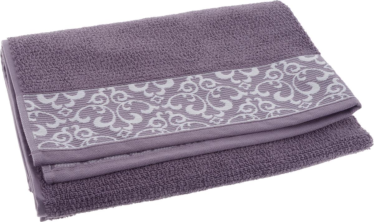 Полотенце банное Issimo Home Verda, цвет: сливовый, 70 х 140 см00000005482Банное полотенце Issimo Home Verda выполнено из натуральной махровой ткани (100% хлопок). Изделие отлично впитывает влагу, быстро сохнет и не теряет форму даже после многократных стирок.Рекомендации по уходу:- режим стирки при 40°C,- допускается обычная химчистка,- отбеливание запрещено,- глажка при температуре подошвы утюга до 110°С,- барабанный отжим запрещен.Размер полотенца: 70 x 140 см.