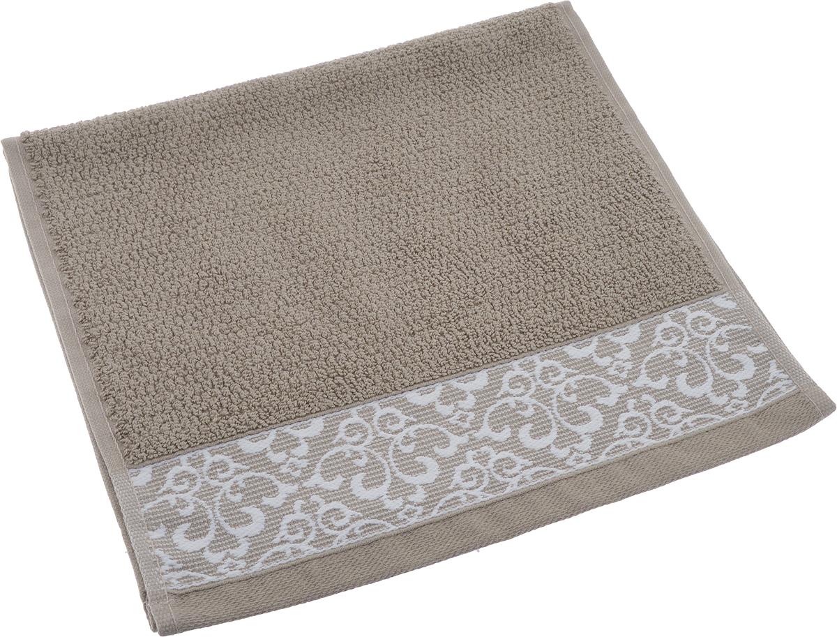 Полотенце махровое Issimo Home Verda, цвет: коричневый, 30 х 50 смdme283554Прекрасное полотенце Issimo Home Verda выполнено из натуральной махровой ткани (100%хлопок). Изделие отлично впитывает влагу, быстро сохнет и не теряет форму даже послемногократных стирок. Рекомендации по уходу: - режим стирки при 40°C, - допускается обычная химчистка, - отбеливание запрещено, - глажка при температуре подошвы утюга до 110°С, - барабанный отжим запрещен. Размер полотенца: 30 x 50 см.