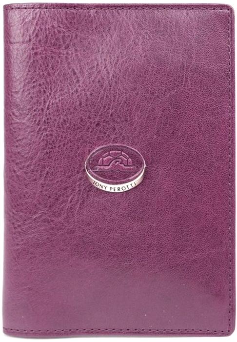 Обложка для паспорта женская Tony Perotti, цвет: бордовый. 993404/20993404/20Отделение для паспорта, дополнительные внутренние отделения для визиток/кредиток.