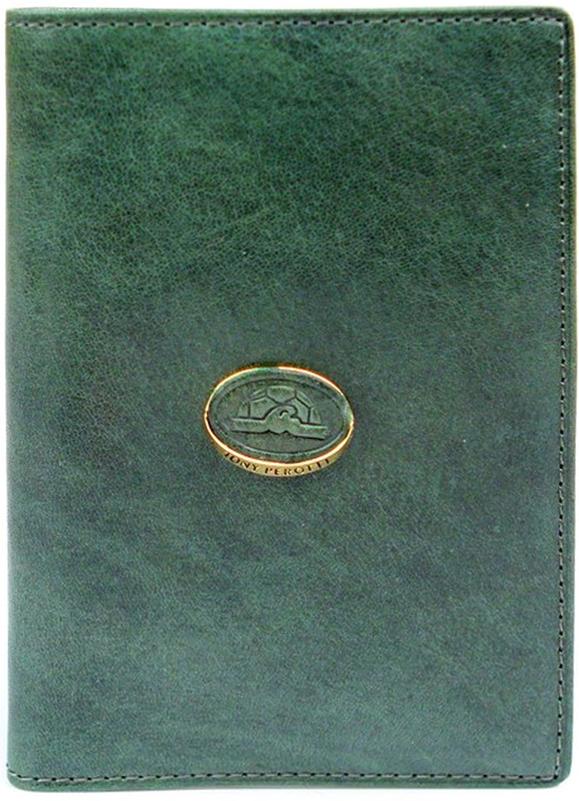 Обложка для паспорта женская Tony Perotti, цвет: зеленый. 993404/8Натуральная кожаОбложка для паспорта поможет подчеркнуть вашу индивидуальность и стиль. В нем отделение для паспорта, дополнительные внутренние отделения для визиток или кредиток.