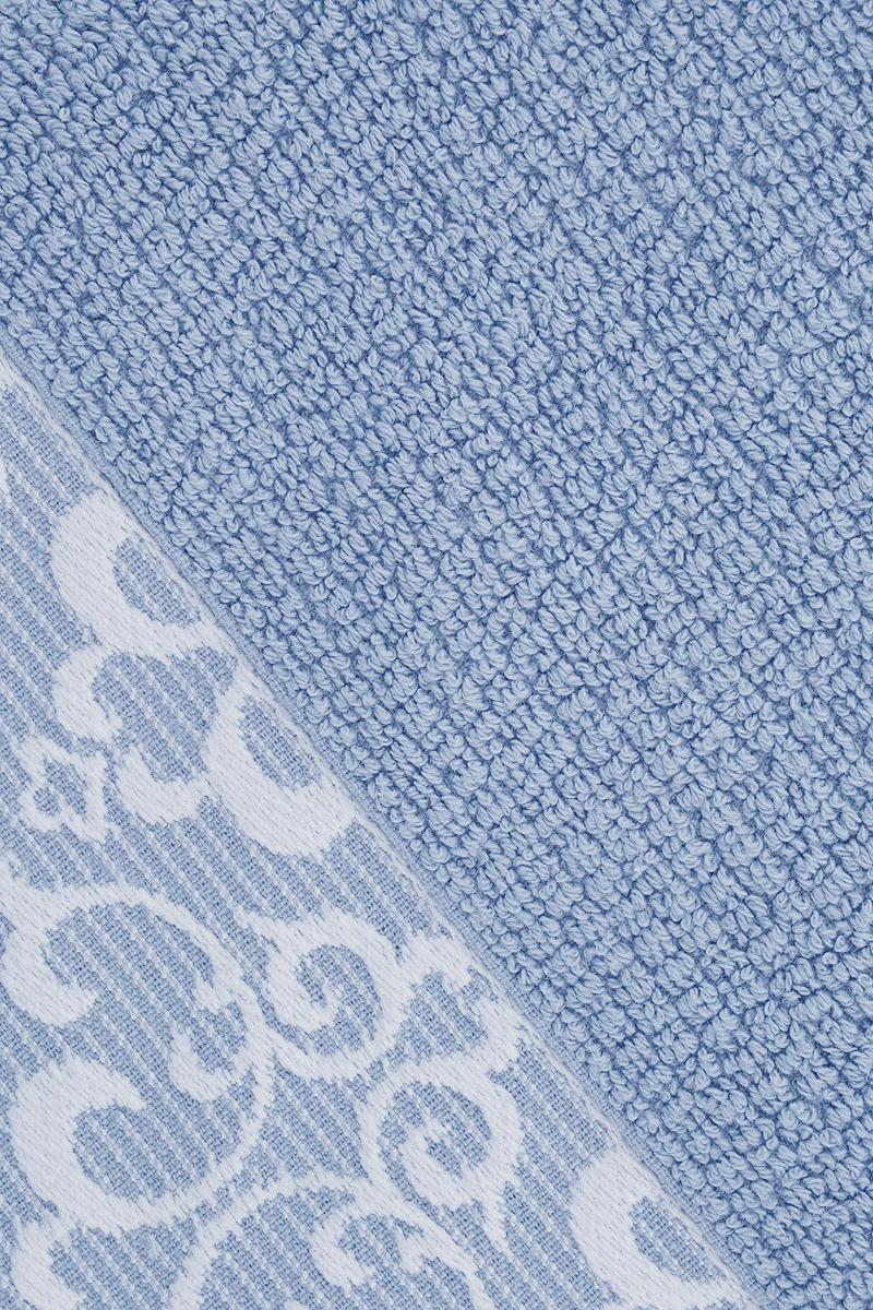 """Прекрасное полотенце Issimo Home """"Verda"""" выполнено из натуральной махровой ткани (100%  хлопок). Изделие отлично впитывает влагу, быстро сохнет и не теряет форму даже после  многократных стирок. Рекомендации по уходу: - режим стирки при 40°C, - допускается обычная химчистка, - отбеливание запрещено, - глажка при температуре подошвы утюга до 110°С, - барабанный отжим запрещен. Размер полотенца: 50 x 90 см."""