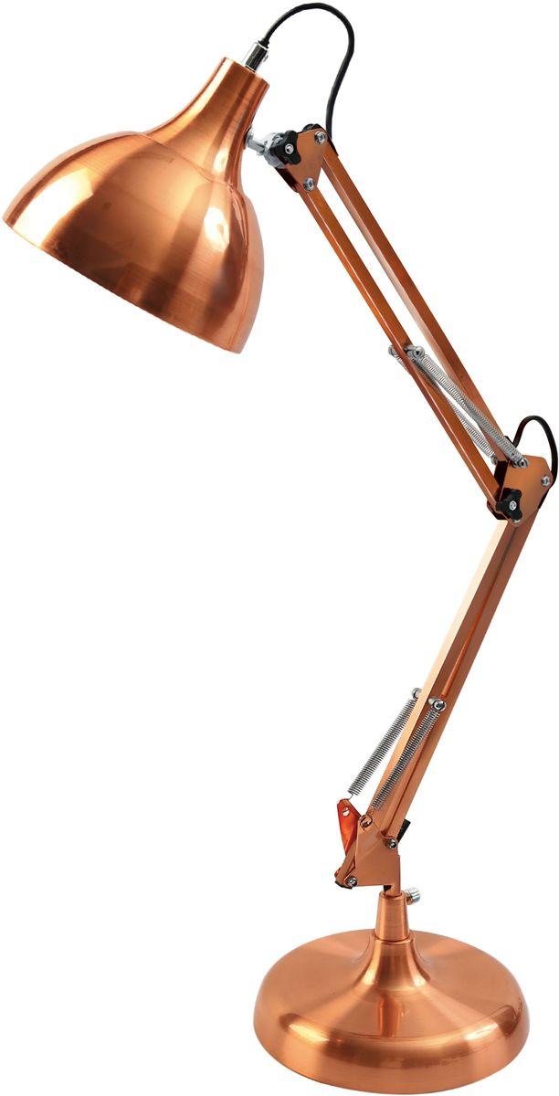 Светильник настольный Camelion Loft, 40W, 230V, E27, цвет: медный. KD-330 C2912788Camelion KD-330 C29 медь (Светильник настольный, 230V, 40W, E27)