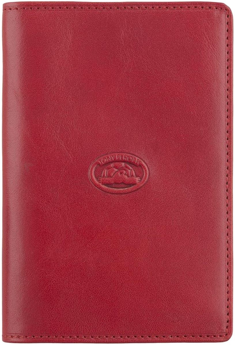 Обложка для паспорта женская Tony Perotti, цвет: красный. 273435/4 - Обложки для паспорта