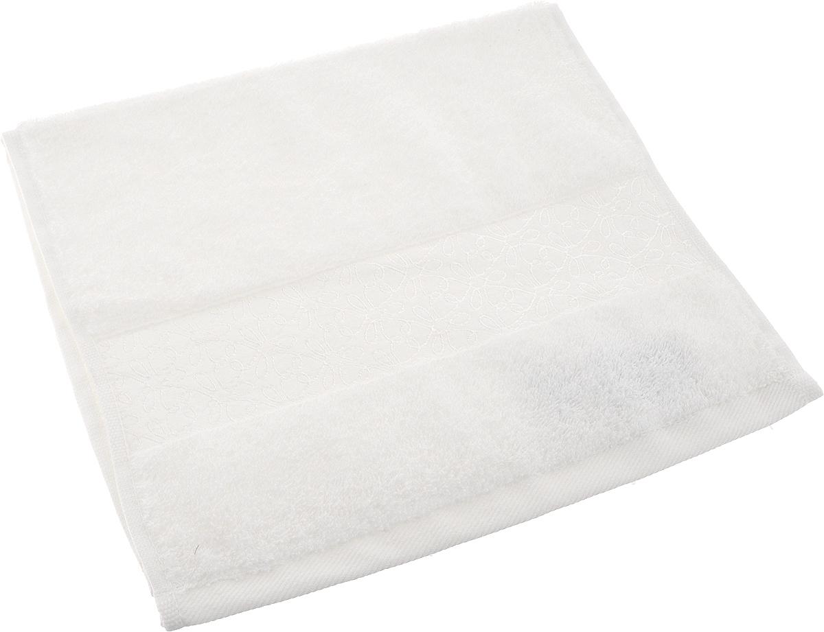 Полотенце махровое Issimo Home Perin, цвет: белый, 30 х 50 смdme283549Прекрасное полотенце Issimo Home Perin выполнено из натуральной махровой ткани (100%хлопок). Изделие отлично впитывает влагу, быстро сохнет и не теряет форму даже послемногократных стирок. Рекомендации по уходу: - режим стирки при 40°C, - допускается обычная химчистка, - отбеливание запрещено, - глажка при температуре подошвы утюга до 110°С, - барабанный отжим запрещен. Размер полотенца: 30 x 50 см.