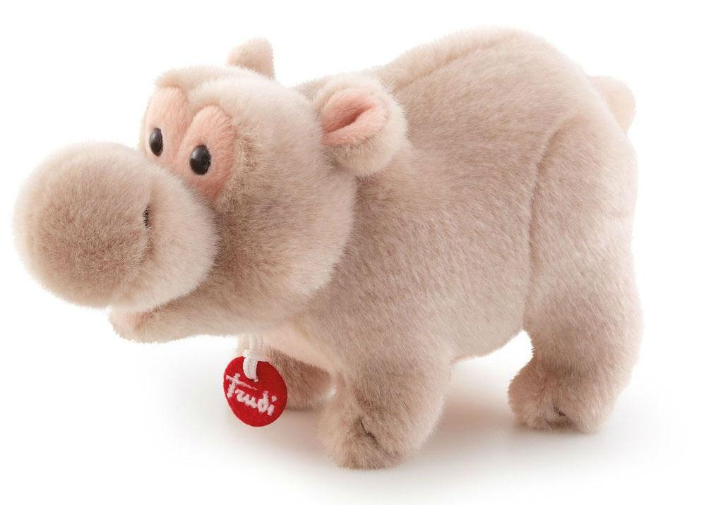 Trudi Мягкая игрушка Бегемотик делюкс 15 см мягкая игрушка trudi черепашка 15 см