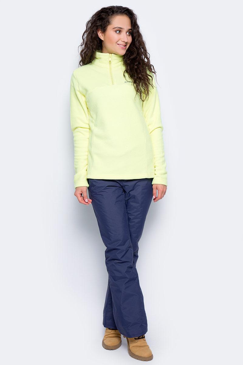 Толстовка женская Columbia Western Ridge Half Zip Jumper, цвет: желтый. 1740891-797. Размер XL (50)