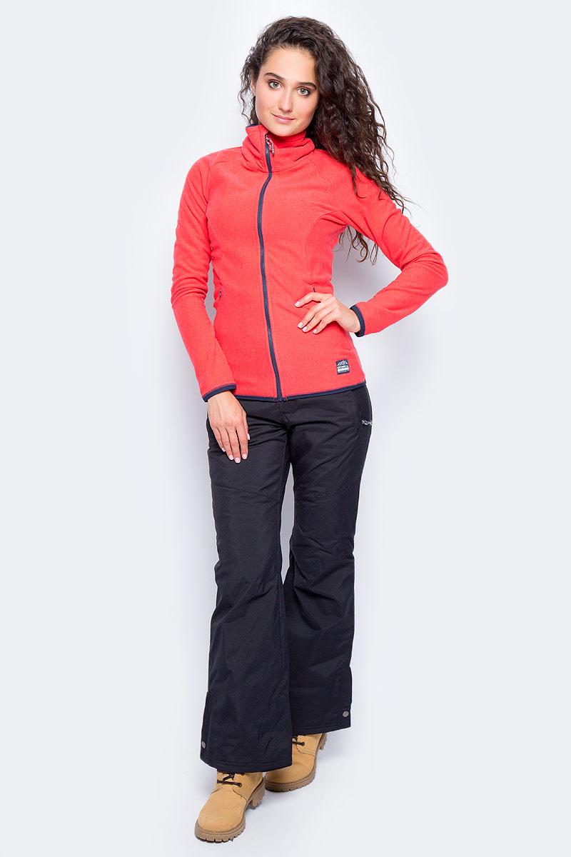 Толстовка женская ONeill Pw Ventilator Full Zip Fleece, цвет: красный. 7P5220-3111. Размер L (48/50)7P5220-3111Стильная толстовка ONeill Pw Ventilator Full Zip Fleece, изготовленная из высококачественного материала, необычайно мягкая и приятная на ощупь, не сковывает движения, обеспечивая наибольший комфорт. Изделие с воротником-стойкой и длинными рукавами застегивается на застежку-молнию.
