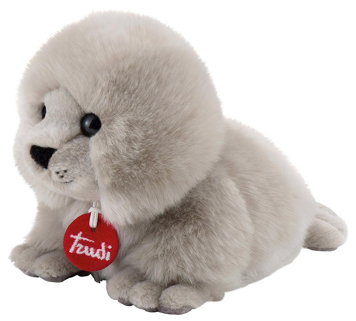 Trudi Мягкая игрушка Тюлень-пушистик 24 см мягкие игрушки trudi белый тюлень 58 см