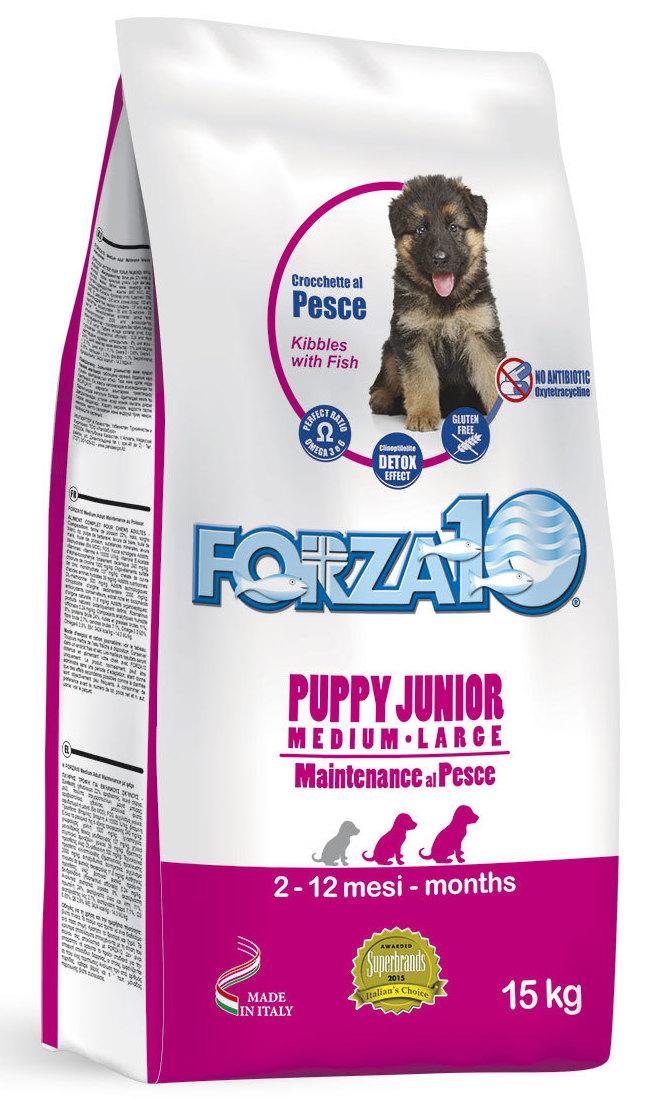 Корм сухой Forza10 Maintenance для щенков средних и крупных пород с 2,5 месяцев, для собак в период беременности и лактации, с рыбой, 15 кг0102025Корм из рыбы для щенков средних /крупных пород (с 2,5 мес.), также для сук в период беременности и лактации. Для гармоничного и уравновешенного роста, содержит ценные белки.