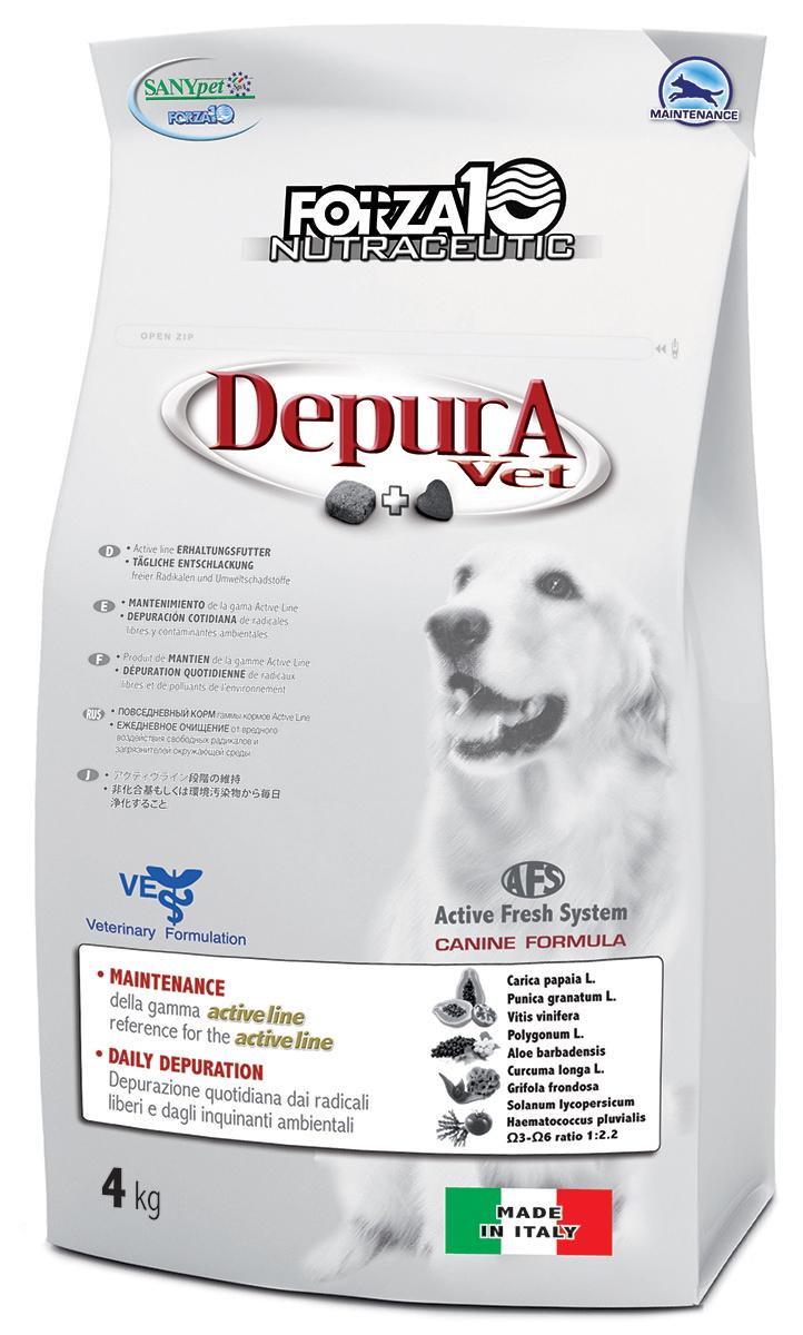Корм сухой Forza10 Active Line для взрослых собак всех пород, в послеоперационный период, для восстановления после заболеваний, после длительных стрессов и нагрузок, 4 кг0909004Корм для взрослых собак всех пород, защита от свободных радикалов и загрязнений окружающей среды. Для замедления процессов клеточного старения, в послеоперационный период, а также для восстановления после заболеваний, для снижения побочных действий фармакологических препаратов, для рабочих и выставочных собак в период восстановления после длительных стрессов и нагрузок.