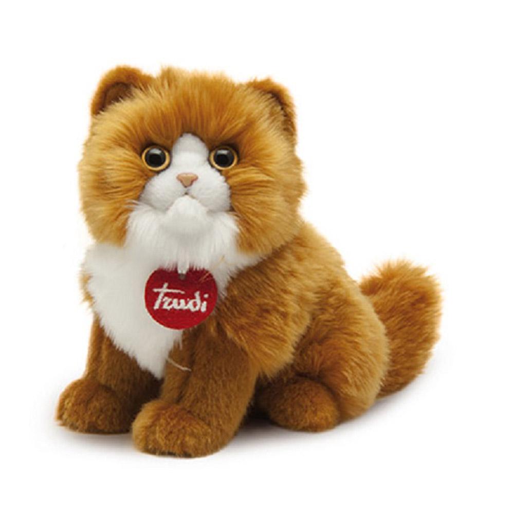 Trudi Мягкая игрушка Рыжая персидская кошка 23 см