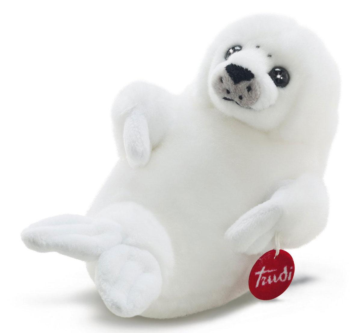 Trudi Мягкая игрушка Белый Тюлень 28 см - Мягкие игрушки