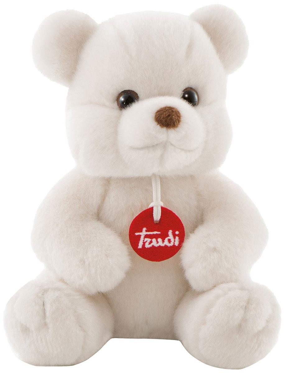 Trudi Мягкая игрушка Белый медвежонок Толомео 21 см trudi котёнок брэд серо белый 24 см
