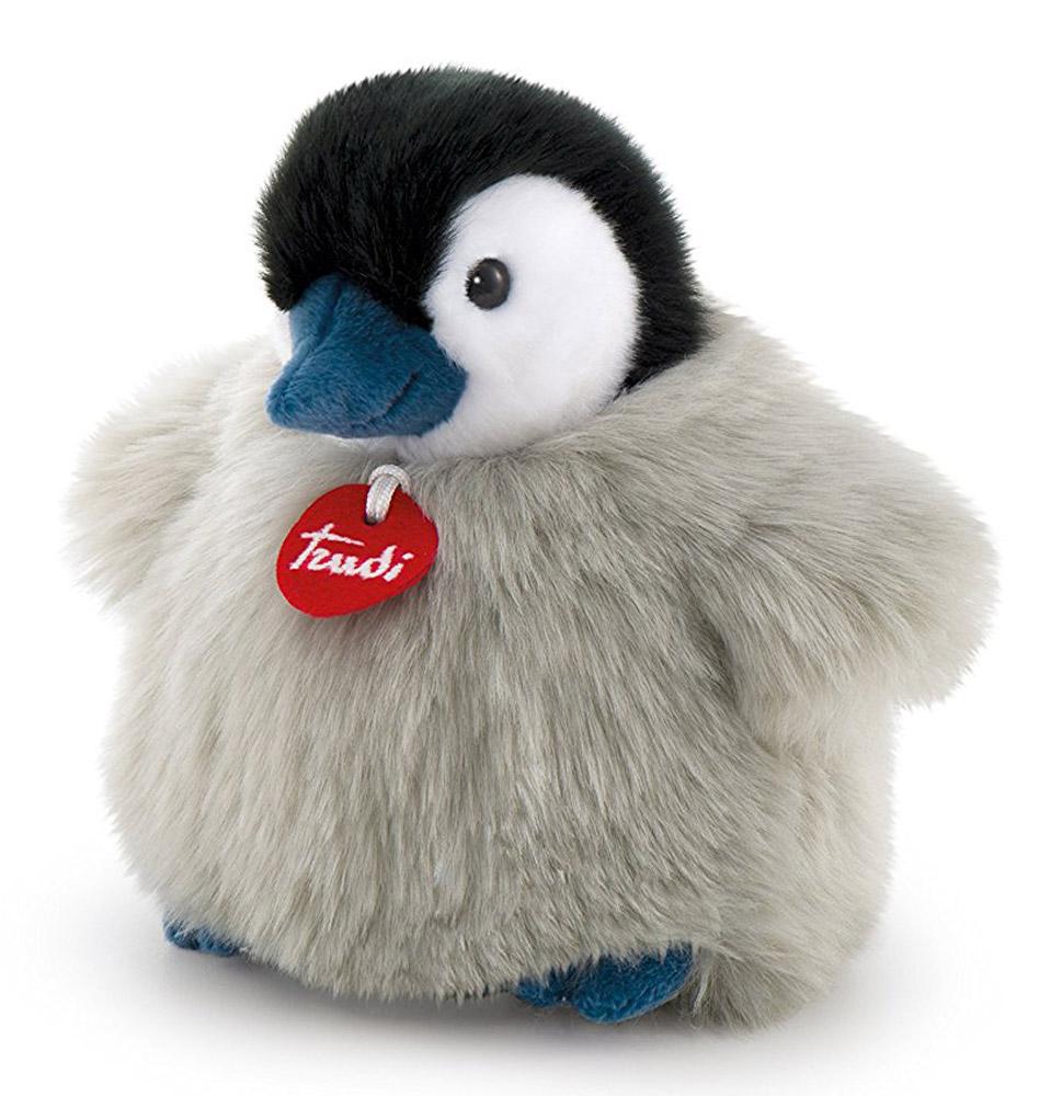 Trudi Мягкая игрушка Пингвин-пушистик 24 см trudi котёнок брэд серо белый 24 см