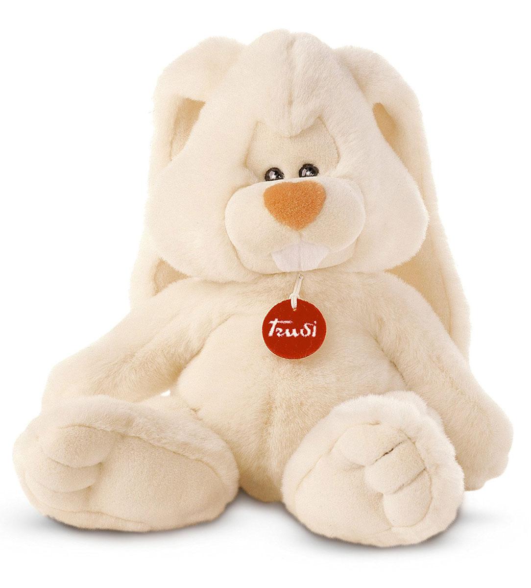 Trudi Мягкая игрушка Заяц Вирджилио 40 см мягкие игрушки trudi лайка маркус 34 см