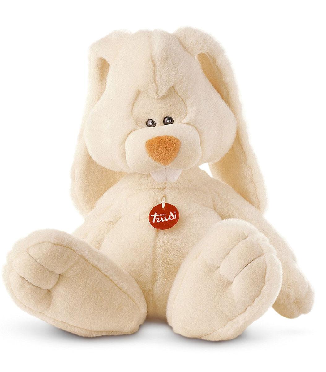 Trudi Мягкая игрушка Заяц Вирджилио 50 см мягкие игрушки trudi лайка маркус 34 см