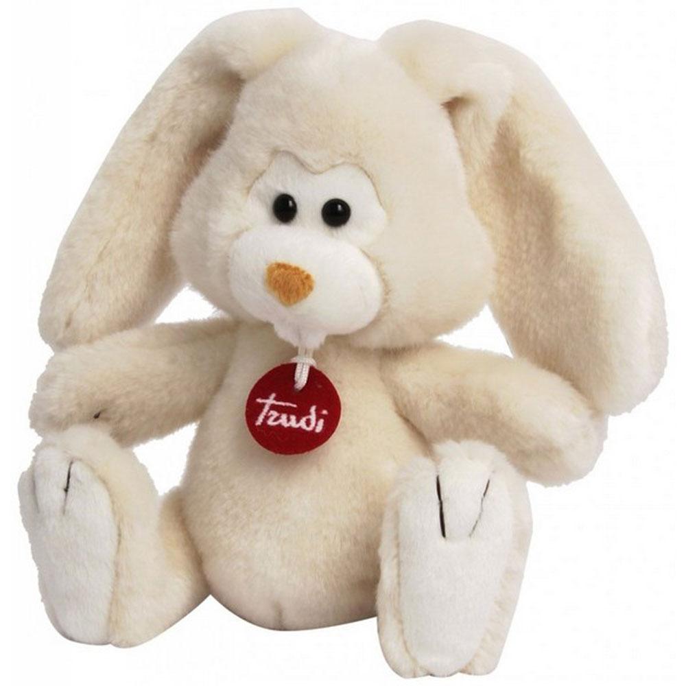 Trudi Мягкая игрушка Заяц Вирджилио 24 см trudi котёнок брэд серо белый 24 см