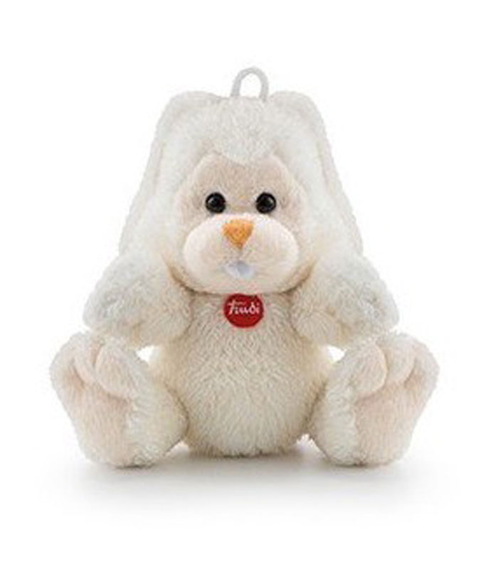 Trudi Мягкая игрушка Заяц Вирджилио 9 см мягкая игрушка trudi лайка маркус