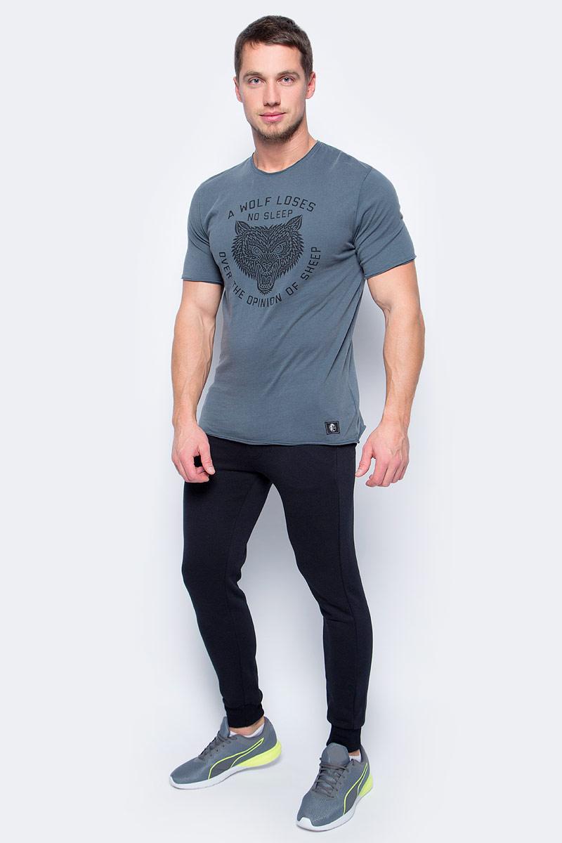 Футболка мужская ONeill Lm The Wolf T-Shirt, цвет: серый. 7P2308-8034. Размер S (46/48)7P2308-8034
