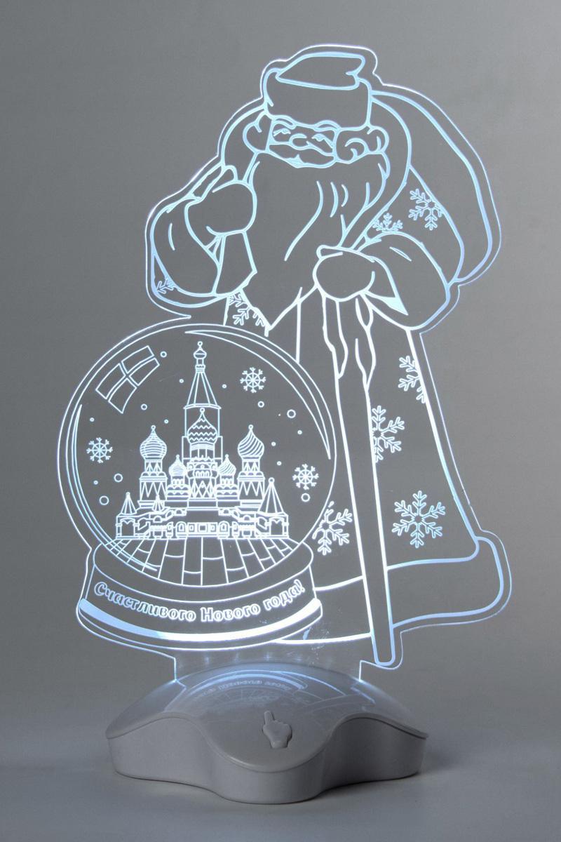 Подставка световая Luazon Дед Мороз. Москва, 25 х 15,5 см. 2446512
