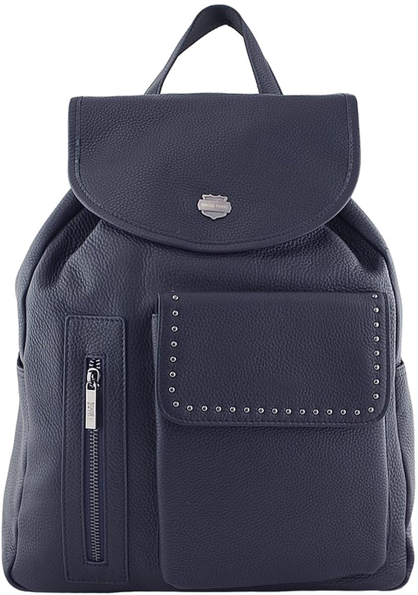 Рюкзак мужской Bruno Perri, цвет: синий. 5220-7/6 рюкзак bruno rossi b36 nero