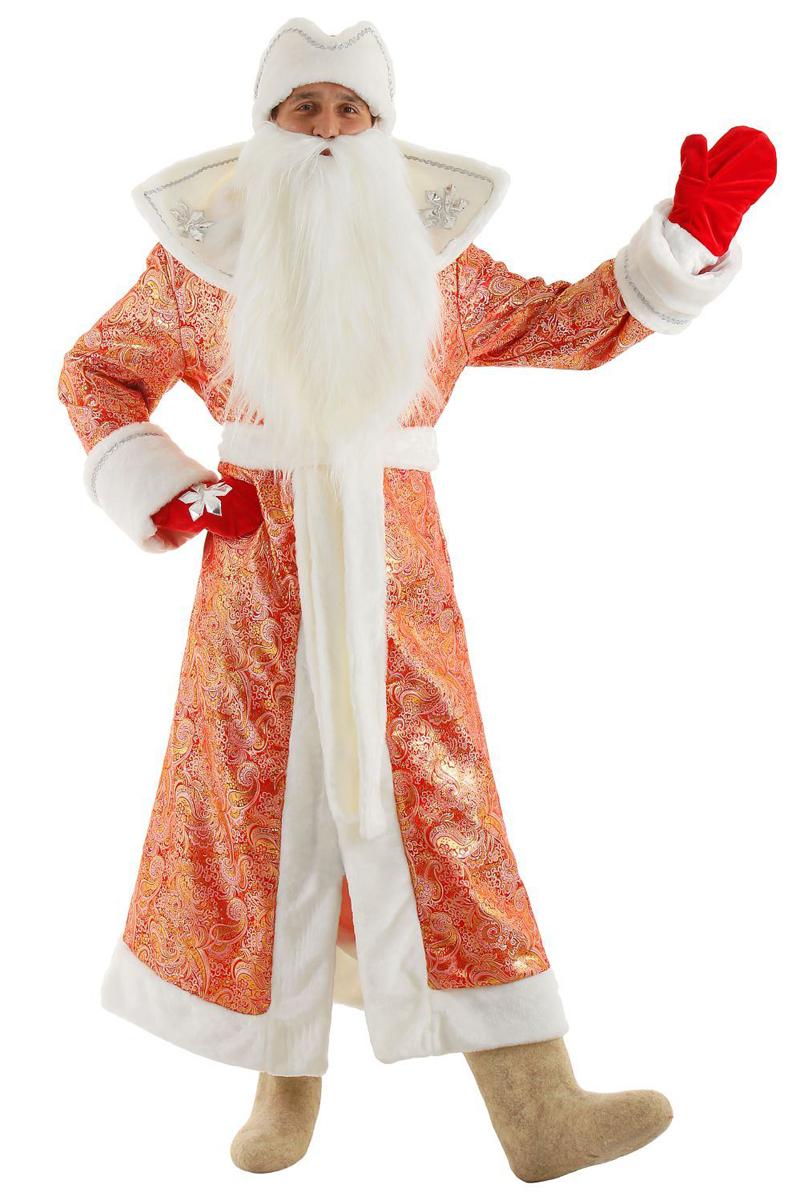 Карнавальный костюм Бока  Дед Мороз , цвет: красный. Размер 52/54. 1577029 - Карнавальные костюмы и аксессуары