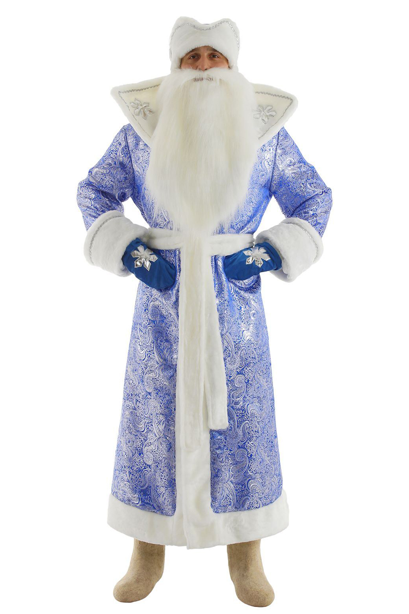 будут картинка деда мороза в синем костюме кто ругает