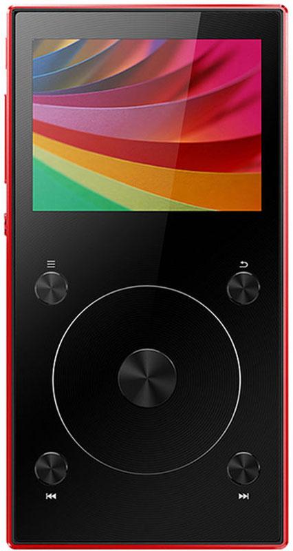 Fiio X3 III, Red Hi-Res плеер15119635Fiio X3 III - портативный проигрыватель lossless-аудио высокого разрешения.Плеер имеет как обычный 3,5 мм выход, так и балансный разъём 2,5 мм, что позволяет вам подключать как обычные, так и балансные наушники. Балансный выход, которого не было в плеерах ХЗ предыдущих поколений, специально разработан для создания более широкой звуковой сцены и извлечения большего количества деталей звучания.Вы заслуживаете лучшего звука. И ХЗ третьего поколения даст его вам, благодаря его сдвоенному высокопроизводительному ЦАП РСМ5242. В балансном исполнении эти чипы эффективно подавляют шумы и обеспечивают более высокое соотношение сигнал/шум. Все это значит, что ваша музыка предстанет перед вами в своей первозданной форме, свободная от нежелательных искажений.В схеме Fiio X3 III все критически важные элементы, - такие, как ЦАП, фильтр низких частот и усилитель, - разделены, что заметно снижает возможное негативное влияние внешних факторов на качество звука. В частности, в Fiio X3 III используется три отдельных платы - одна для цифровой обработки, вторая для аналогового усиления, и, наконец, третья - для Bluetooth-связи. Это обеспечивает выдающееся качество звучания вне зависимости оттого, решите вы воспользоваться проводами или избавиться от них.Fiio X3 III оснащен новой многофункциональной кнопкой, одно нажатие на которую позволяет вам управлять воспроизведением или эквалайзером переключать плейлисты темы оформления. Всё для того, чтобы вам было удобно.Плеер поддерживает широкий спектр lossless-форматов аудио:WAV, АРЕ, WMA, FLAC, ALAC, DSF и DFF с частотой дискретизации до 192 кГц и разрешением до 32 бит. С ним вам не придется думать о том, сможете ли вы включить песню, которую хотите услышать.Bluetooth 4.1 реализован с помощью чипсета F1C81, который обеспечивает передачу с минимальной задержкой: слушая свою качественную музыку, вы не пропустите ни одного такта.ХЗ третьего поколения поддерживает карты microSD объёмом до 256 ГБ, позволяя вам н