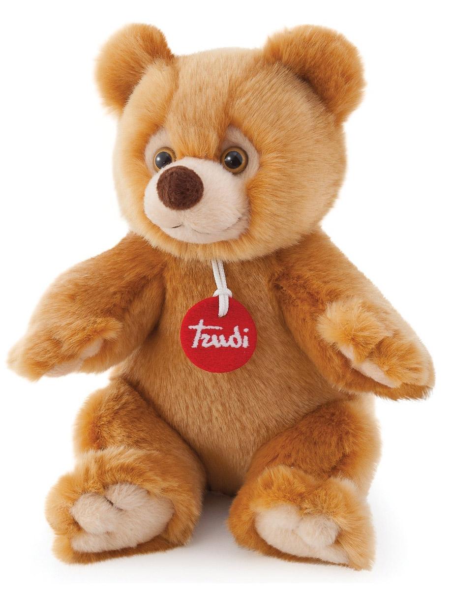 Trudi Мягкая игрушка Медведь Гектор 24 см trudi котёнок брэд серо белый 24 см