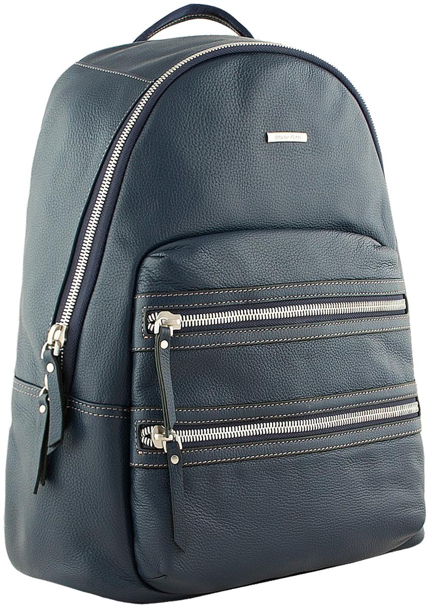 Рюкзак мужской Bruno Perri, цвет: темно-синий. L10816-1/6 рюкзак bruno rossi b36 nero
