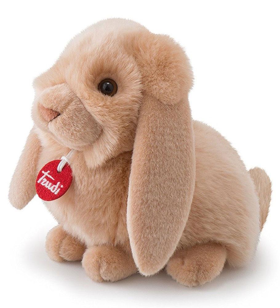 Trudi Мягкая игрушка Кролик-пушистик 24 см trudi котёнок брэд серо белый 24 см