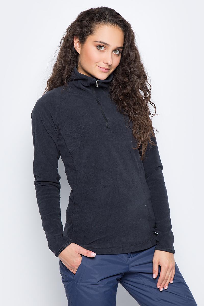 Толстовка женская Columbia Glacial Fleece Iii 1/2 Zip, цвет: черный. 1466971-010. Размер XL (50) толстовка женская only 15 115133026010 115133026 010