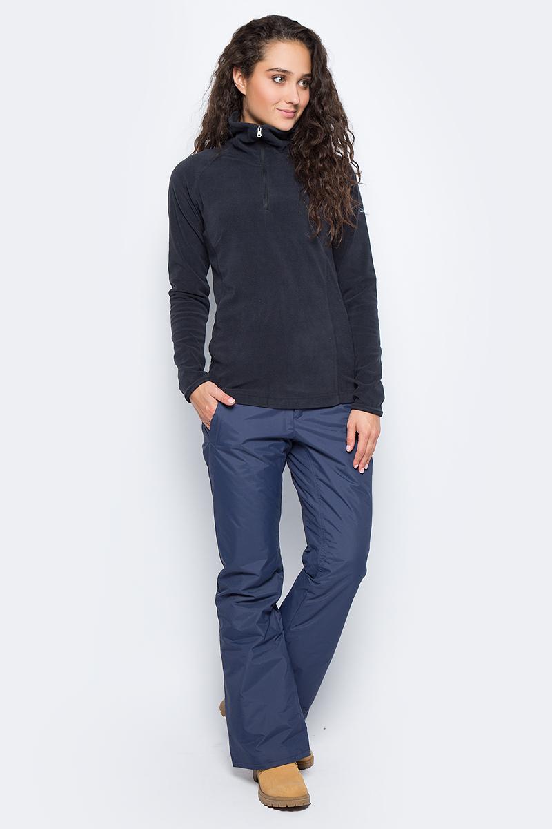 Толстовка женская Columbia Glacial Fleece Iii 1/2 Zip, цвет: черный. 1466971-010. Размер XS (42)