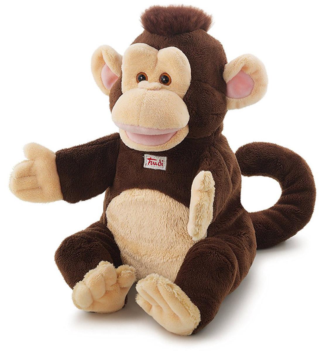 Trudi Мягкая игрушка на руку Обезьяна 25 см - Мягкие игрушки