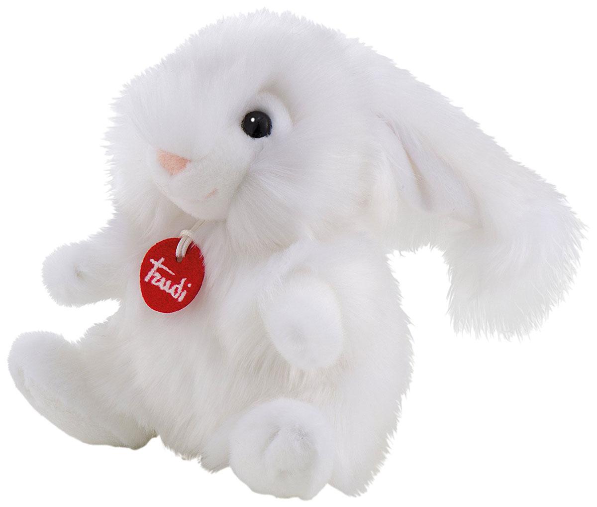 Trudi Мягкая игрушка Зайчик-пушистик 24 см trudi котёнок брэд серо белый 24 см