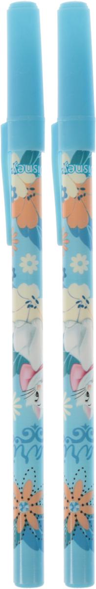 Academy Style Ручки шариковые Marie Cat 2 штMCAB-US1-116-H2Ручки шариковые, цвет пасты синий. Печать на корпусе - термоперенос. Ручка изготовлена из пластика.Размер ручки: 20 см х 6 см х 1 см.