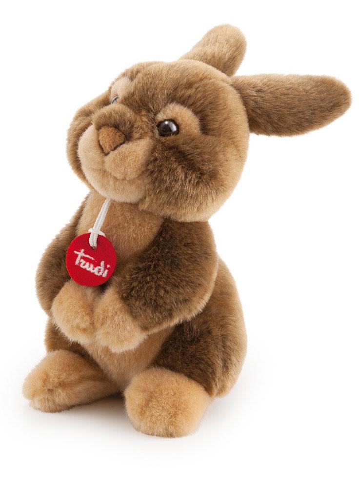 Trudi Мягкая игрушка Заяц Марселло 22 см цена