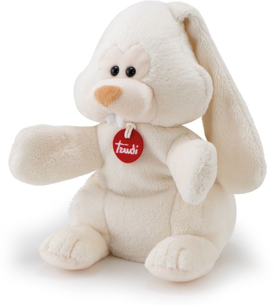 Trudi Мягкая игрушка на руку Заяц Вирджилио 25 см мягкие игрушки trudi мягкая игрушка на руку заяц вирджилио 25 см