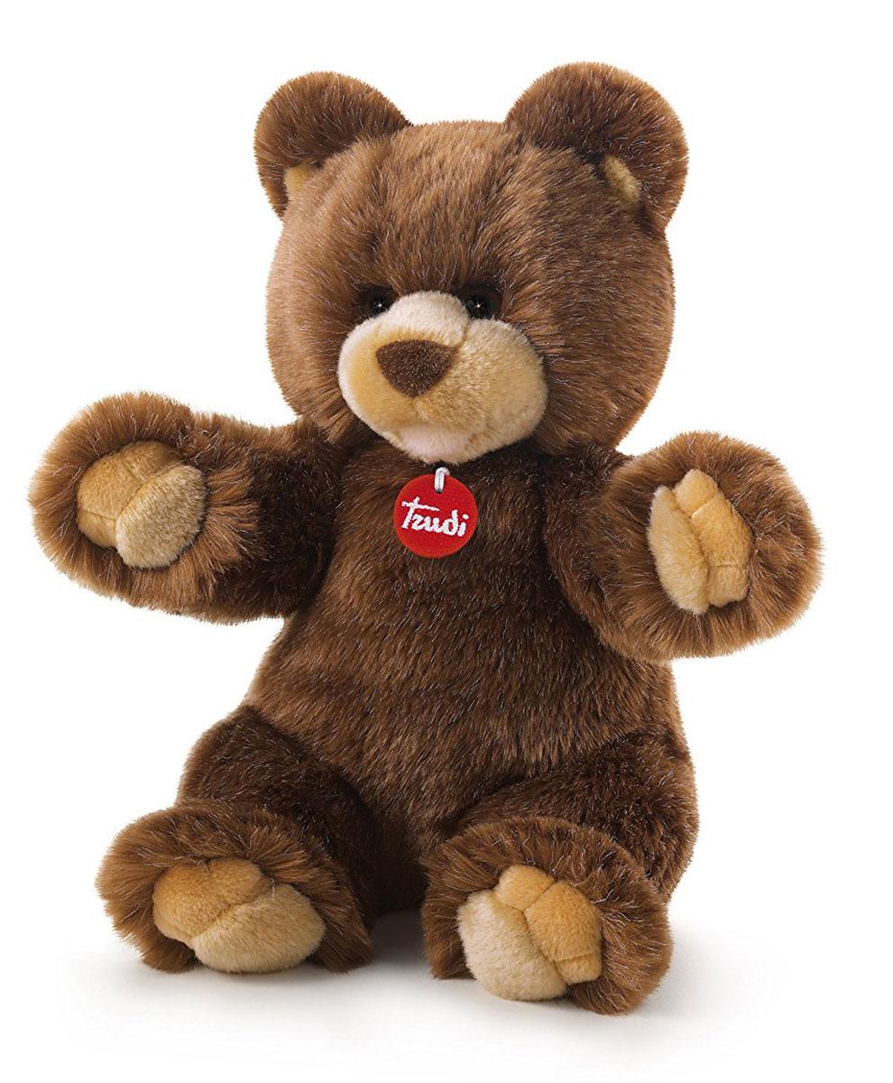 Trudi Мягкая игрушка Коричневый медведь Гедеон 34 см