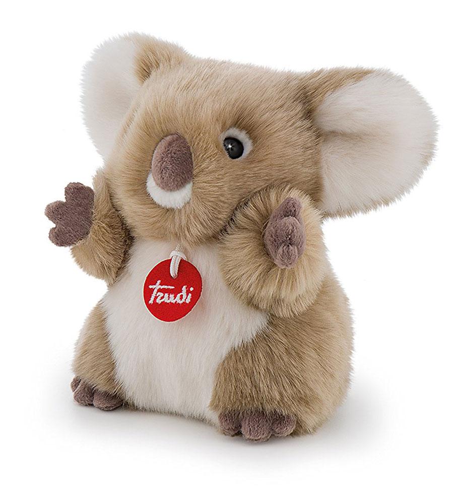 Trudi Мягкая игрушка Коала-пушистик 24 см trudi котёнок брэд серо белый 24 см