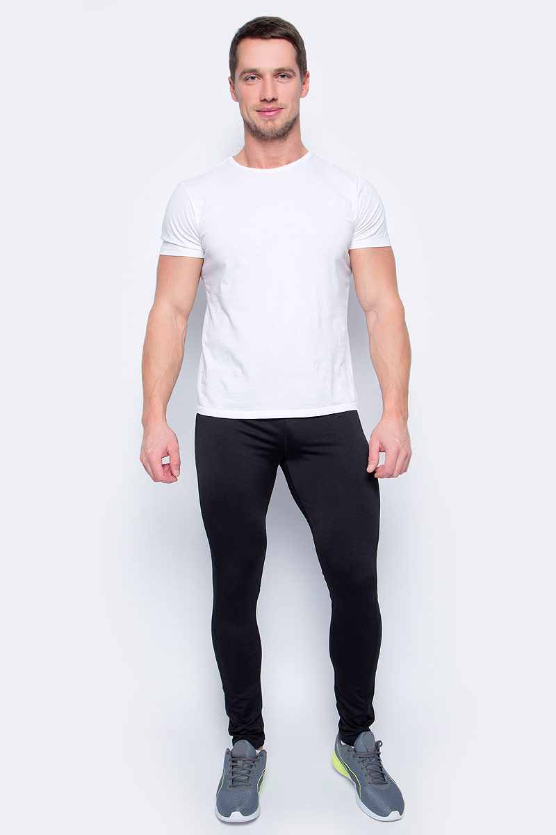 Брюки муж Icepeak, цвет: черный. 857013584IV_990. Размер XXXL (56)857013584IV_990Тайтсы от Icepeak выполнены из высококачественного эластичного материала. Модель облегающего кроя с эластичной резинкой на талии.