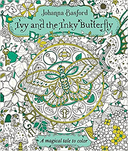 Ivy and the Inky Butterfly: A Magical Tale to Color coloring of trees