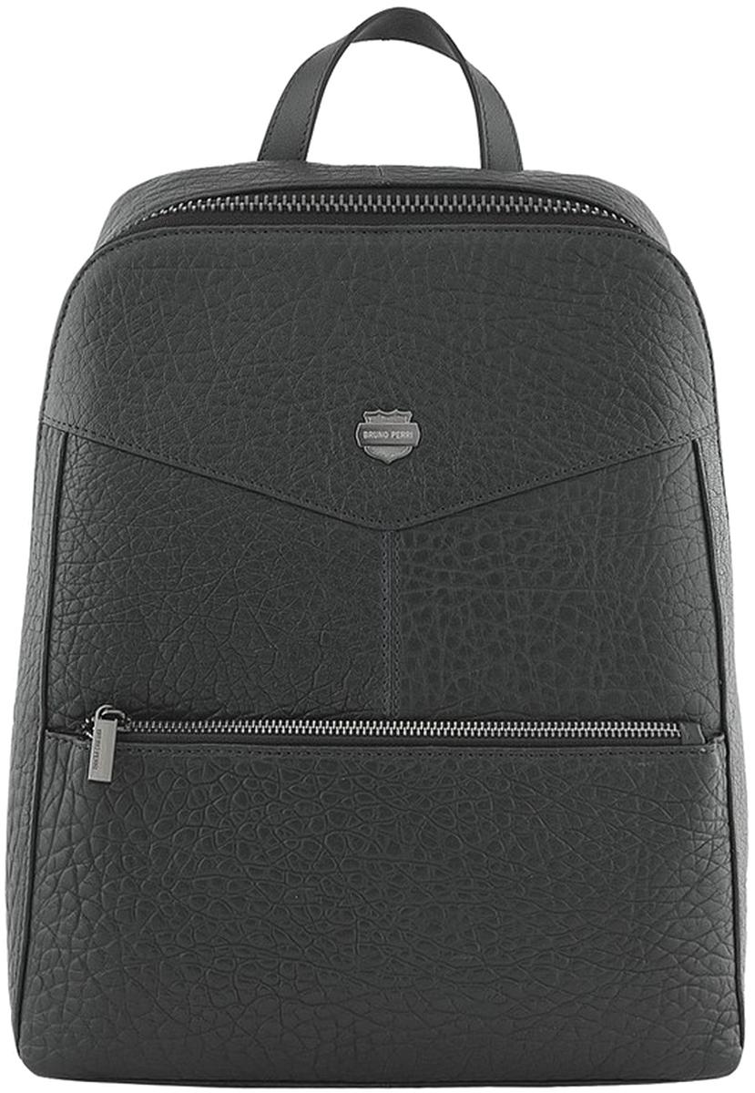 Рюкзак мужской Bruno Perri, цвет: черный. 7252-6/1 рюкзак fabio bruno fabio bruno fa044bwampt0