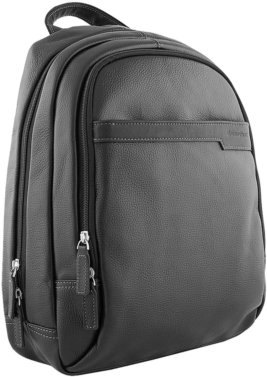 Рюкзак мужской Bruno Perri, цвет: черный. L10502/1 рюкзак bruno rossi b36 nero