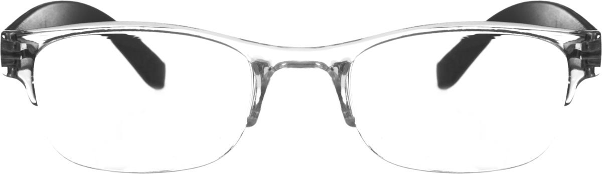 Proffi Home Очки корригирующие (для чтения) 322 Fabia Monti +0.75, цвет: прозрачный, черныйPH5535Корригирующие очки, это очки которые направлены непосредственно на коррекцию зрения. Готовые очки для чтения с минусовыми и плюсовыми диоптриями (от -2,5 до + 4,00), не требующие рецепта врача. За счет технологически упрощенной конструкции и отсутствию этапа изготовления линз по индивидуальным параметрам - экономичный готовый вариант для людей, пользующихся очками нечасто, в основном, для чтения.