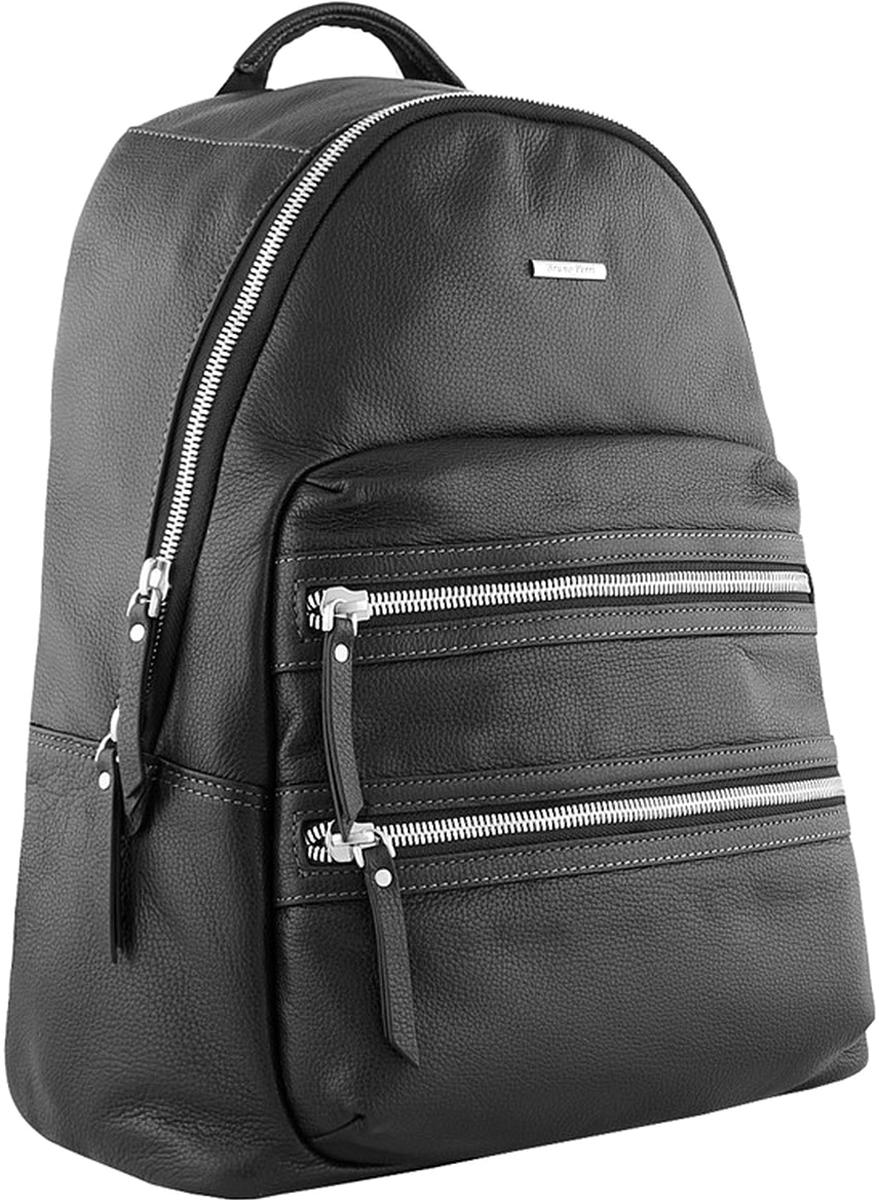 Рюкзак мужской Bruno Perri, цвет: черный. L10816-1/1 рюкзак bruno rossi b36 nero