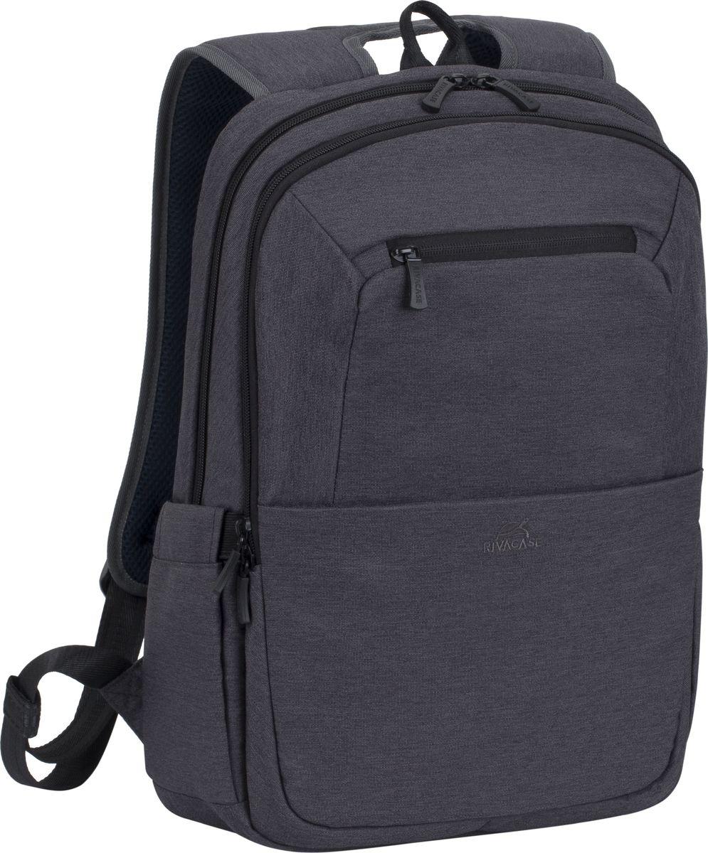 RivaCase 7760, Black рюкзак для ноутбука 15.64260403571873Рюкзак в спортивном стиле из высококачественной, водоотталкивающей ткани.- Легкий, но имеет утолщенные стенки для защиты ноутбука от случайных ударов и царапин, а также от пыли и влаги.- Основное отделение для ноутбука с вертикальной загрузкой, имеет мягкие стенки и ремень для надежной фиксации ноутбука до 15.6. - Дополнительное внутреннее отделение для планшета до 10.1.- Внешнее переднее отделение на молнии для хранения аксессуаров, также оборудовано панелью-органайзером для хранения визитных карт, флэш-накопителей, смартфона. Также на передней панели карман на молнии для различных мелочей.- Два боковых кармана для ёмкостей с водой.- Двойная застежка молния для удобного доступа к устройству.- Удобная мягкая ручка для переноски и наплечные ремни со смягчающими подкладками помогут чувствовать себя комфортно в самом долгом путешествии.- На задней стенке имеется ремень крепления к багажной сумке и скрытый карман на молнии для паспорта, бумажника.- Специальная система крепления ремешков на липучке закрепляет их и создает дополнительное удобство.Внутренний/Внешний размер (мм): 280x385x40 / 290x430x145 Вес: 550 г. Материал: Полиэстер, 600D.