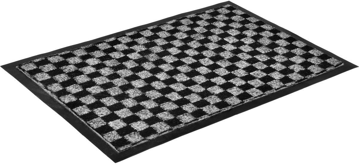 Коврик влаговпитывающий Vortex Hall, 40 х 60 см. 2239822398Влаговпитывающий коврик Vortex выполнен из ПВХ и полиэстера. Он прост в обслуживании, прочный и устойчивый к различным погодным условиям. Предназначен для использования внутри и снаружи помещения. Лицевая сторона коврика мягкая и ребристая. Прорезиненная основа предотвращает его скольжение по гладкой поверхности и обеспечивает надежную фиксацию. Такой коврик надежно защитит помещение от уличной пыли и грязи.