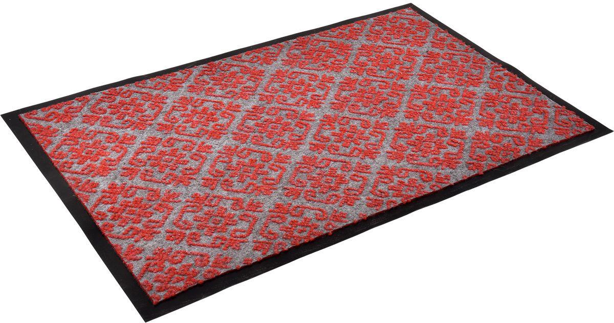 Коврик влаговпитывающий Vortex Hall, 50 х 80 см. 24077sk_18325_78x145Влаговпитывающий коврик Vortex выполнен из ПВХ и полиэстера. Он прост в обслуживании, прочный и устойчивый к различным погодным условиям. Предназначен для использования внутри и снаружи помещения. Лицевая сторона коврика мягкая и ребристая. Прорезиненная основа предотвращает его скольжение по гладкой поверхности и обеспечивает надежную фиксацию.Такой коврик надежно защитит помещение от уличной пыли и грязи.