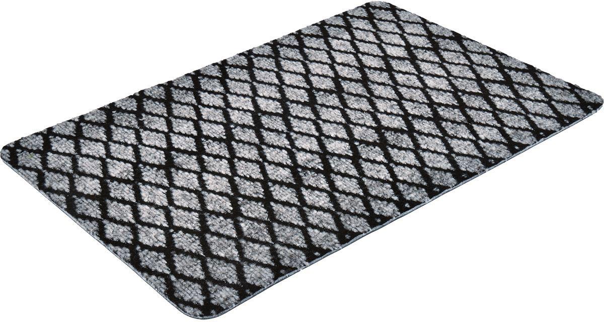Коврик влаговпитывающий Vortex Trophy, 40 х 60 см. 2239922399Влаговпитывающий коврик Vortex выполнен из ПВХ и полиэстера. Он прост в обслуживании, прочный и устойчивый к различным погодным условиям. Предназначен для использования внутри и снаружи помещения. Лицевая сторона коврика мягкая и ребристая. Прорезиненная основа предотвращает его скольжение по гладкой поверхности и обеспечивает надежную фиксацию. Такой коврик надежно защитит помещение от уличной пыли и грязи.